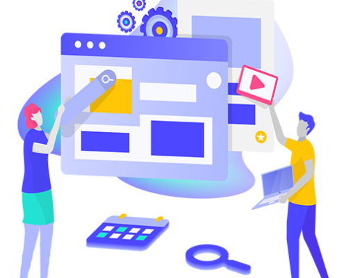 We are a web design agency